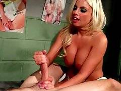 Brittany Amber Bangs Mark Long With The Strap-On 2